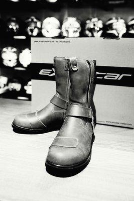(二輪動力生活館)EXUSTAR E-SBT143W 復古防水長靴