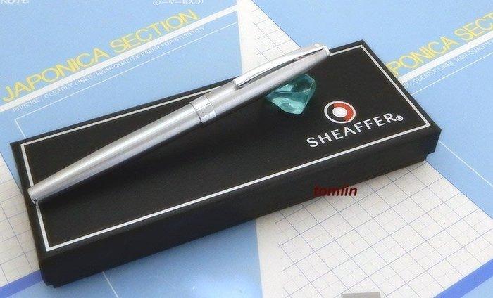 有現貨可出貨:限定之美國西華 SHEAFFERSAGARIS 戰斧系列全不鏽鋼銀桿鋼筆。限定二支。有二色可選。