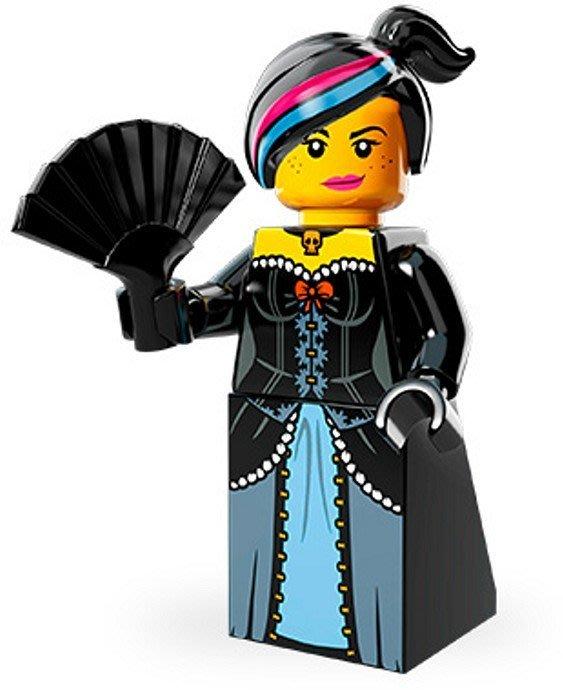 絕版品【LEGO 樂高】玩具 積木/ Minifigures人偶包系列: 樂高玩電影 71004 | #4 溫斯黛+扇子