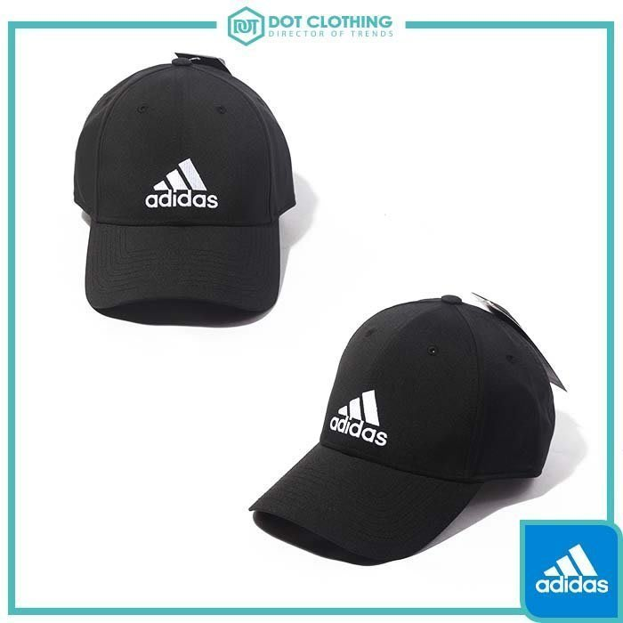 DOT 聚點 ADIDAS 6PCAP LTWGT EMB 黑 白 電繡 刺繡 老帽 復古帽 基本款 男女 S98159