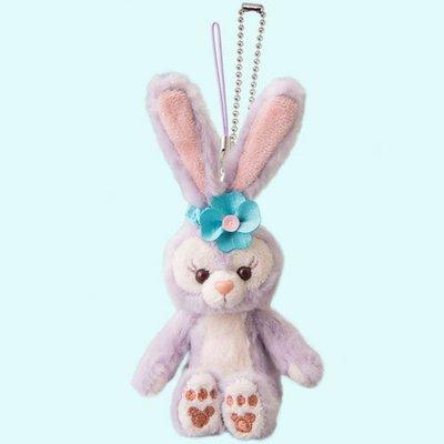 尼德斯Nydus 日本 東京迪士尼海洋限定 達菲熊 Duffy 新朋友 史黛拉兔 Stella Lou 吊飾 坐姿