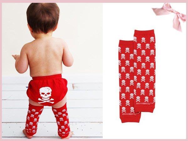 【童夢屋】美國rufflebutts 紅色骷髏頭襪套.肘套 ONE SIZE .特價【RUFFLEG00】~7
