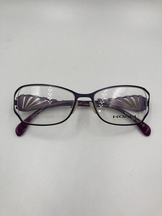 頂傑 KOALI 紫色蝴蝶造型鏡框 - 6918K