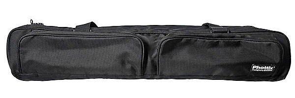 呈現攝影-德國Phottix 加厚燈架袋120cm 橫桿腳架背袋 提袋 外口袋 固定帶 燈腳架 滑軌 離機閃