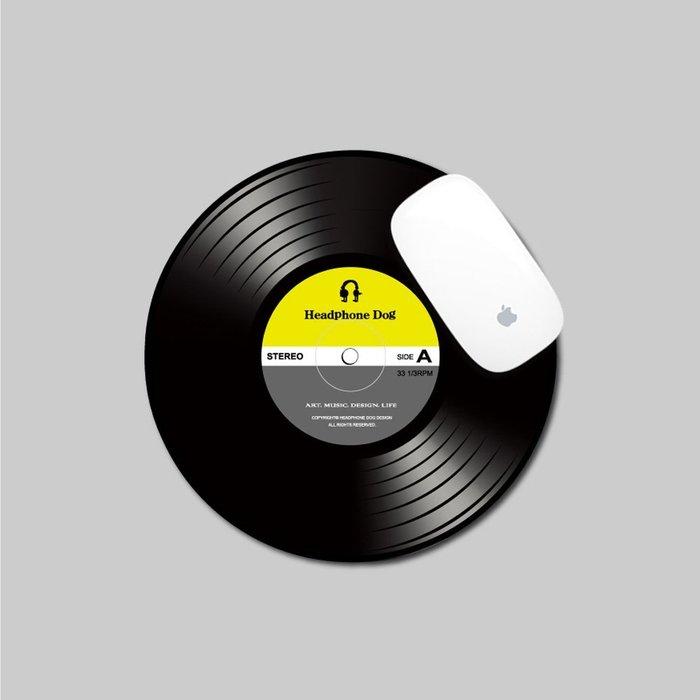 【HeadphoneDog】DJ刷碟造型滑鼠墊