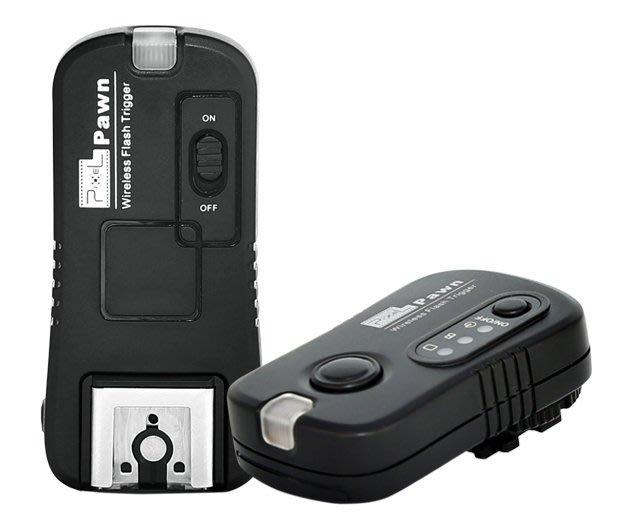 呈現攝影-品色(Pixel) TF-365 無線快門+無線閃燈觸發器2.4G sony用 熱靴MI 離機閃 F60M