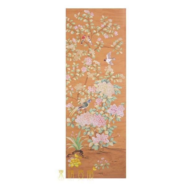 【芮洛蔓 La Romance】手繪絲綢壁紙 ZW01-023-06 / 壁飾 / 畫飾 / 牆紙