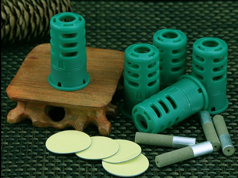 艾灸貼微煙隨身自貼艾粒艾灸寶溫灸器全身可用熱灸驅寒