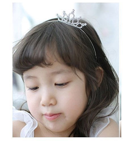 【俏寶貝 ~新竹 店面】 女童 水鑽髮圈  A款  小皇冠髮箍 兒童髮飾 兒童禮服 花童髮