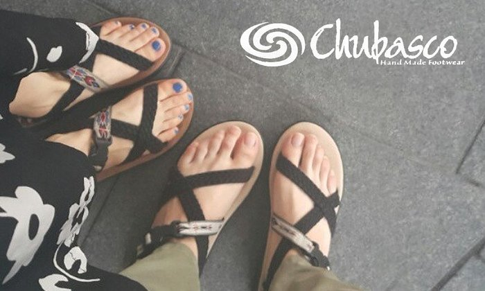 GOODFORIT  美國Chubasco Quetza Sandals限定羽蛇款橡膠 編