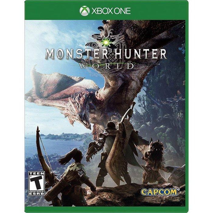 全新未拆 XBOX ONE 魔物獵人 世界 -英文日文美版- MHW Monster Hunter World 怪物獵人