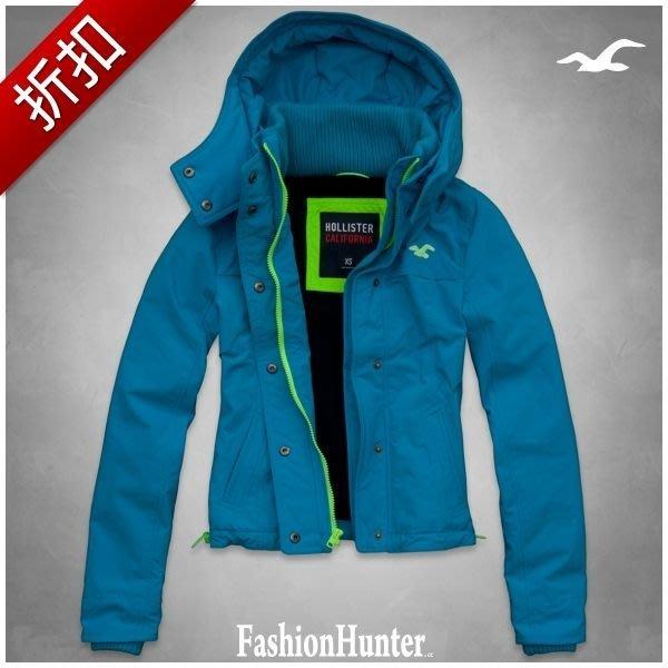 折扣【FH.cc】HCO 機能外套 Hollister All-Weather Jacket 刺繡海鷗 搖粒絨 A&F