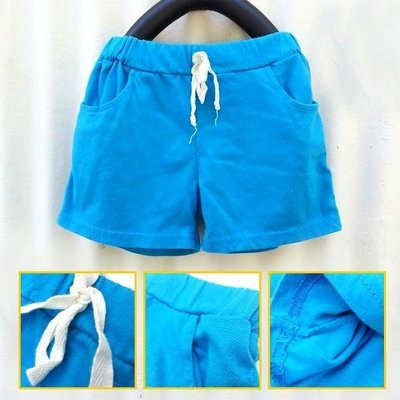 【班比納精品童裝】馬卡龍舒適棉褲-藍【BO140217021】