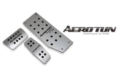 【AEROTUN】全新 SAAB 9-3 9-5   鋁製踏板組3pcs  AEROTUN踏板組