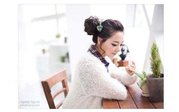 水媚兒假髮 DLH50-C韓系捲髮丸子頭 髮包  現貨或預購