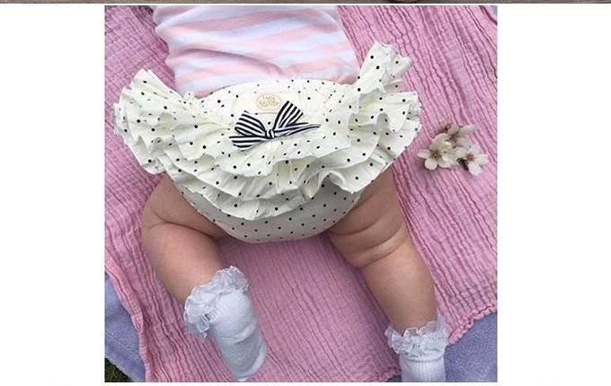 【現貨+預購】爆款夏款嬰兒大PP褲女寶寶蕾絲花邊褲蝴蝶結圓點短褲