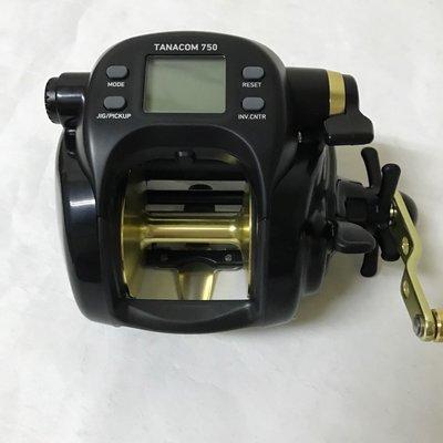 **小愛**  DAIWA TANACOM 750   電動捲線器  (黑寶) 新到貨