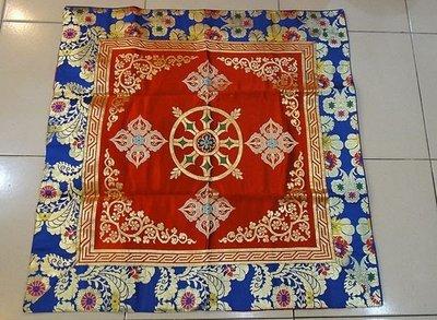 甘丹佛教文物^_^尼泊爾製 桌墊布**...