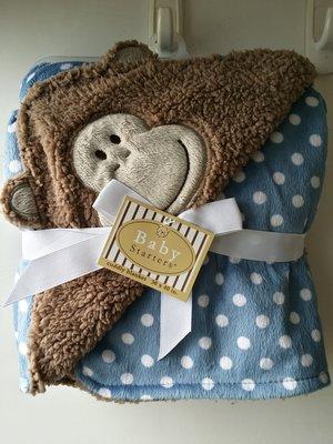 【美國品牌】100% 全新正品 嬰幼兒 輕柔舒眠 極柔絨毯/ 毛毯/ 抱毯/ 萬用毯 冷氣房可用 彌月禮 BAB01