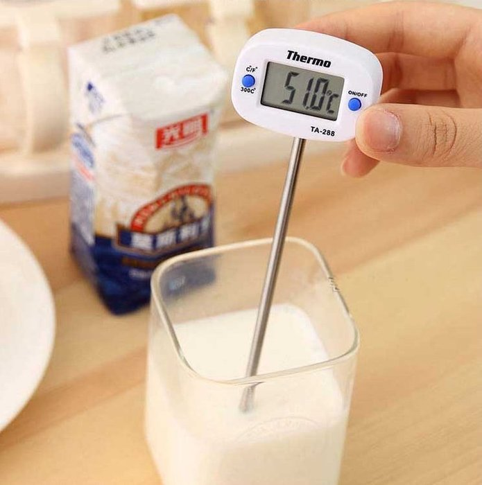 ~Ray的雜貨舖~食品食物筆式 針式溫度計 探針式 電子數顯液體燒烤油溫計