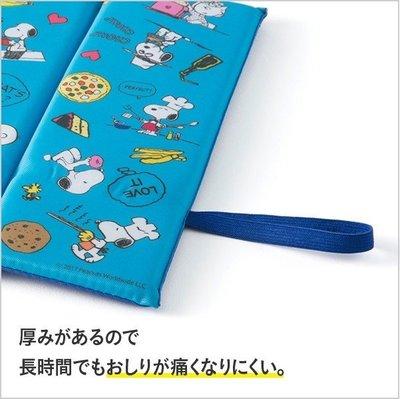 Snoopy史努比折疊式涼墊4901367043616日本進口