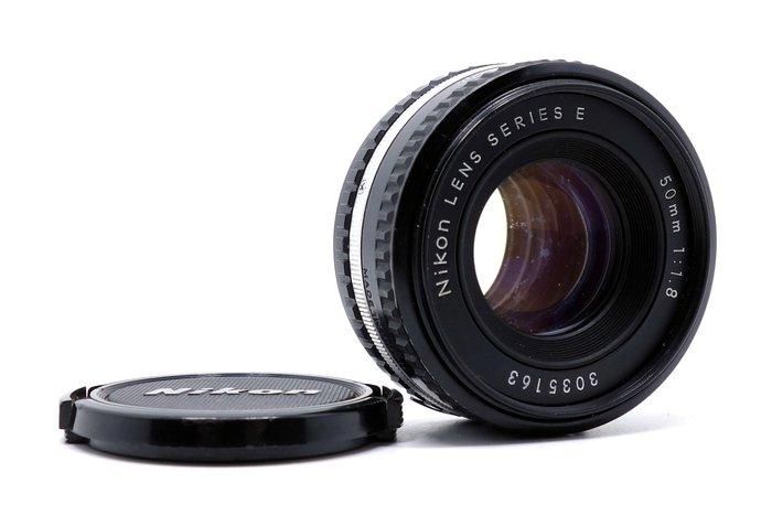 【台中競標】Nikon 50mm f1.8 Series E 二手 單眼鏡頭 競標無底價 標多少賣多少 #04626