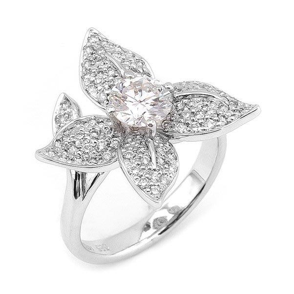 【JHT 金宏總珠寶/GIA鑽石專賣】0.77ct天然鑽石戒指/材質:14K(D000039)