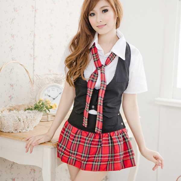 萌系甜美高校生學生服水手服女衣角色扮演COSPLAY