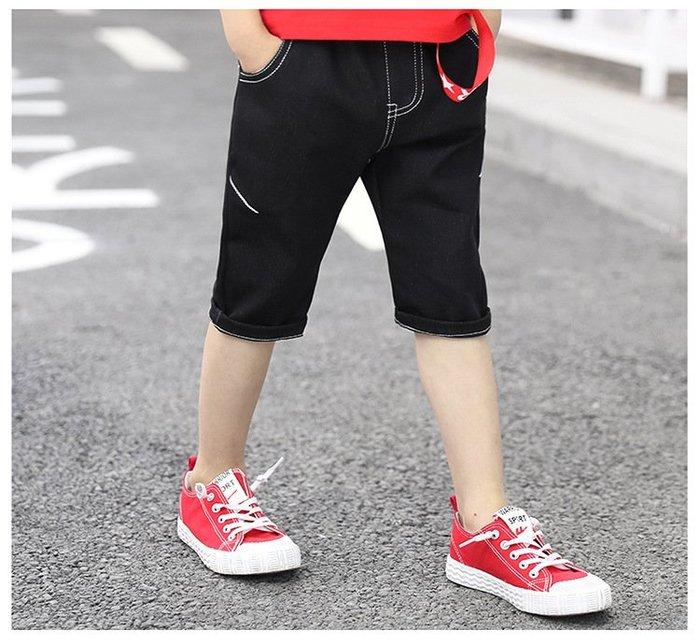 日韓歐美♥熱賣款 韓版男童  外出百搭款 休閒五分褲  口袋 個性款  運動短褲  【E695】