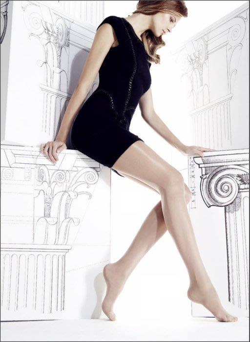 °☆就要襪☆°全新義大利品牌 OMERO LUXOR 高光澤絲光透明絲襪(20DEN)