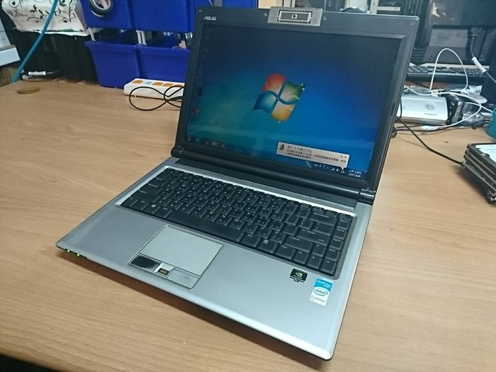 ☆1到6☆ASUS F8S 雙核 筆電 T7300/硬碟80G/記憶體2G/WIN7/獨顯 功能正常 jj260