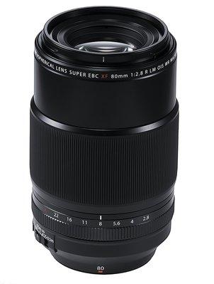 【高雄四海】Fujifilm 富士FUJINON XF 80mm F2.8 OIS WR Macro 全新平輸.一年保固