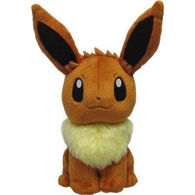 尼德斯Nydus 日本正版 精靈寶可夢 神奇寶貝 Pokemon 絨毛玩偶 娃娃 伊布 Eevee 約17cm