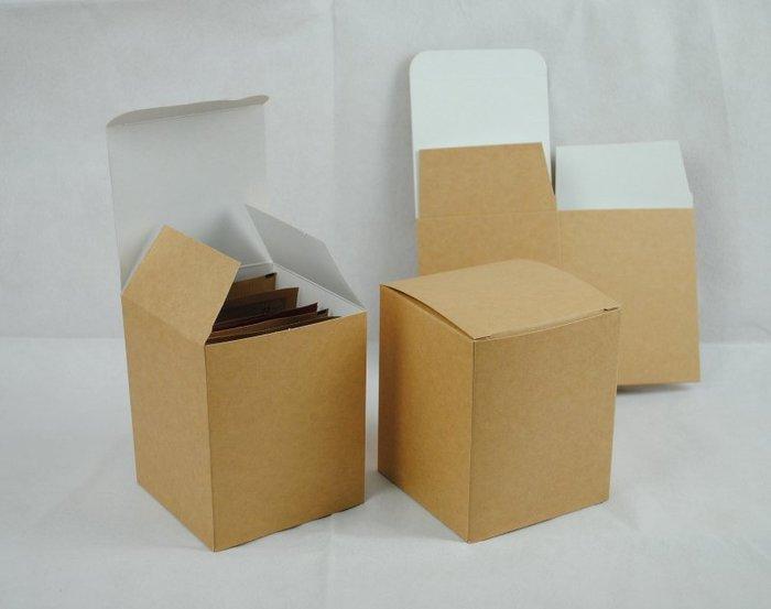 高級牛皮紙盒_掛耳咖啡外盒_質感好_有硬度_可裝10包濾泡式掛耳咖啡袋CandyMan(20入)