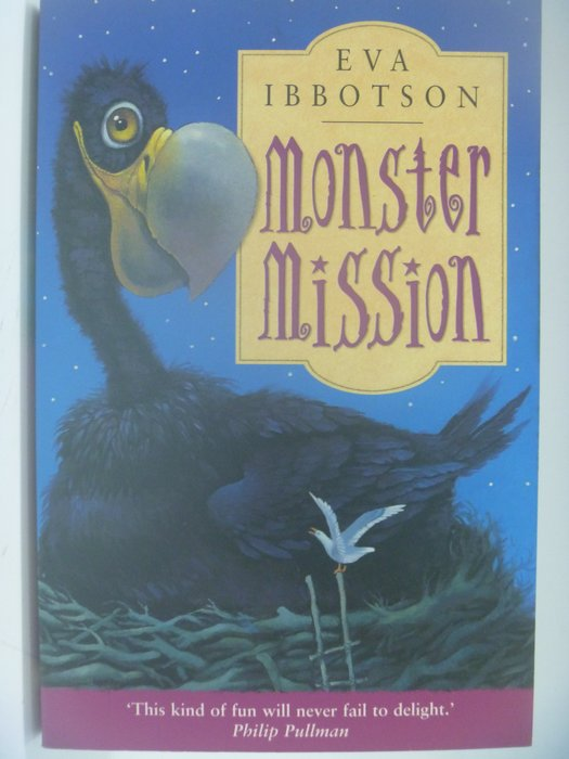 【月界二手書店】Monster Mission_Eva Ibbotson ║外文小說║CCW