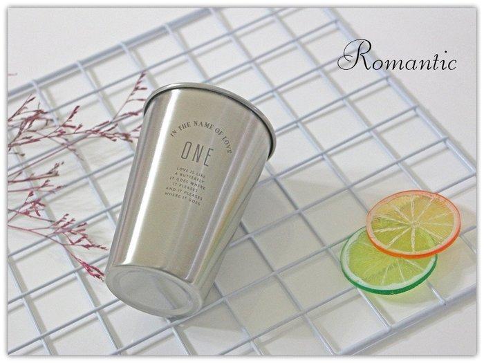 浪漫派飾品 K35 ONE 不銹鋼杯 冷水杯