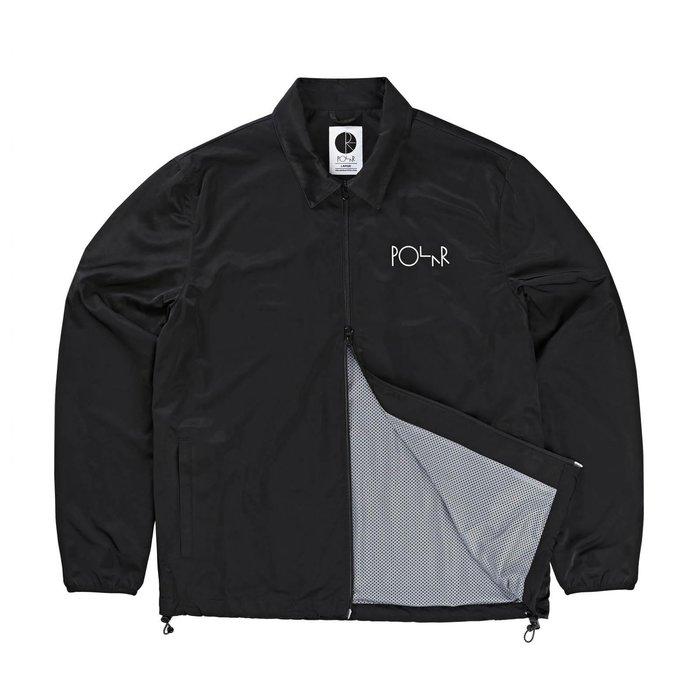 《Nightmare 》Polar Skate Co Coach Jacket - Black  滑板 教練外套 夾克