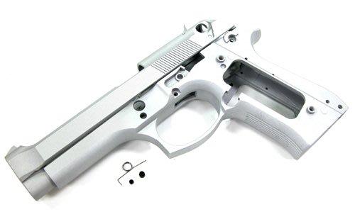 警星 MARUI M92F/M9 鋁合金槍身(鋁合金原色/無刻印)