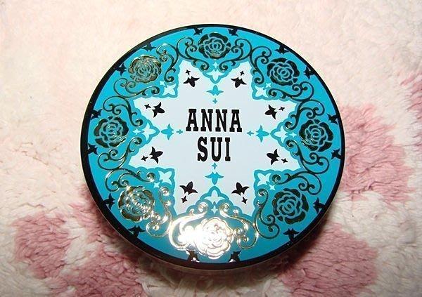 【∮魔法時光∮】ANNA SUI安娜蘇 限量 華麗薔薇復古粉餅粉盒/白薔薇花粉盒 含粉撲含鏡子(與Paul&Joe粉盒)