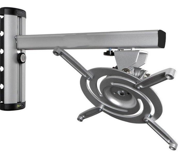 【奇滿來】鋁合金 投影機壁掛架 吊架 可調高低遠近 不怕換機對焦 高低17cm 臂長37c