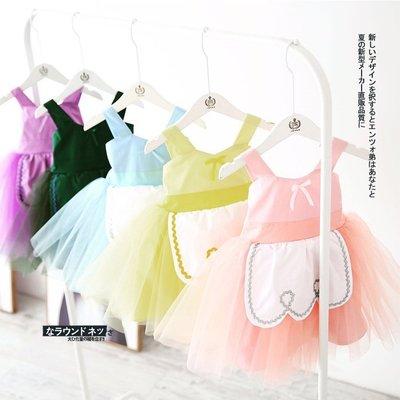 現貨+預購 SWEET思薇 中小童洋裝 網紗夢幻吊帶公主紗裙