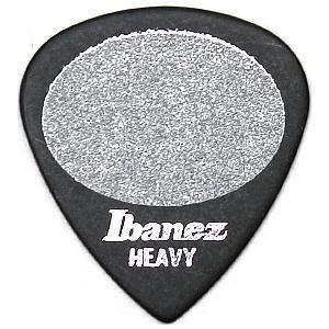 大鼻子樂器 公司貨 Ibanez 雙面止滑 PICK 銀字 現貨 黑色