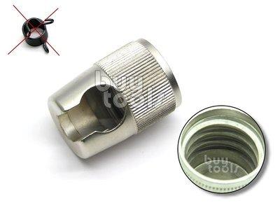 台灣工具-《專業級》氣動鎚鎚頭/固定式合金安全鎚頭-粗牙-safety retaIner、安全不夾手/取代彈簧「含稅」