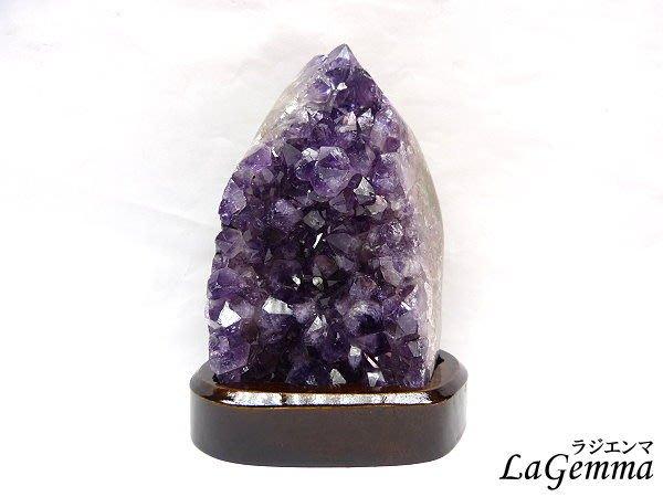 【寶峻水晶】紫氣東來桌上型紫水晶/紫晶座,收藏家最愛烏拉圭高檔深紫,智慧之石WA-811/853g