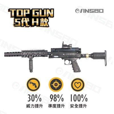 台灣製造TOP GUN 5代 CO2動力鎮暴槍 -H款。買就送超值好禮一卡車,請點我看詳情!