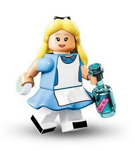 【LEGO 樂高】Minifigures人偶系列: 迪士尼Disney 人偶包抽抽樂 71012 | 愛麗絲 Alice