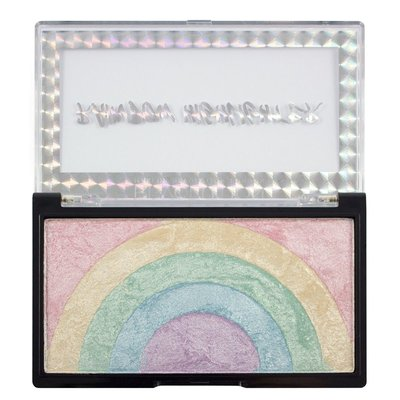 【愛來客 】英國Makeup Revolution Rainbow Highlighter彩虹高光打亮盤