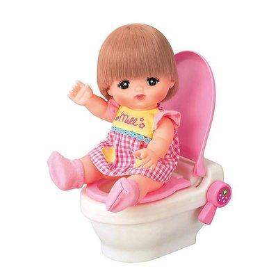 *Mickey.Babe*小美樂娃娃配件 草莓音效馬桶 PL51414 麗嬰正版