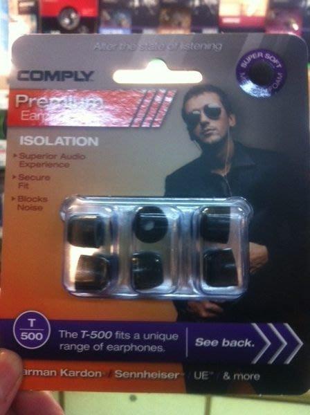 視聽影訊 Comply T-500 T500 耳機耳綿 1對 UE 鐵三角 DENON T