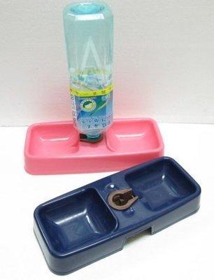 【優比寵物】粉彩系列環保型飼飲兩用(雙用)餵食器/自動飲水器(優惠價)